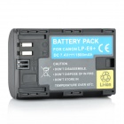 LP-E6+ 7.4V 1800mAh Rechargeable Li-ion Battery for Canon EOS 5D Mark III + More - Black