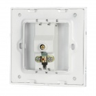 SMEONG Crystal Cable Television Wall Mount Plate - White