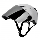 PAULO Motorcycle Outdoor Sports Racing Helmet - Black + White