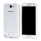 Protective Super Slim Bumper Frame Case for Samsung N7100 Note 2 - White