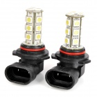9006 9W 660lm 18-SMD 5050 LED White Light Car Fog Lamp (12V / 2 PCS)