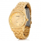 Mike Herren Edelstahl Analog Quartz Wrist Band - Golden (1 x 626)