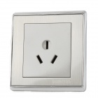 SMEONG 16A 3-Flat-Pin Socket Wall Mount Power Panel for Air Conditioner - Silver + Grey (AC 250V)