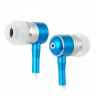 Stylish In-Ear Earphone - Blue (3.5mm Plug) 