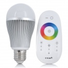E27 7.5W LED 3-Channel RGB Color Light Bulb with Touch Remote Control (86~264V)