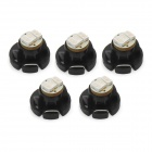 D&Z F453G T4.2 0.15W 20lm 3-SMD 3014 LED Green Light Car Instrument Lamp (5 PCS / 12~17V)