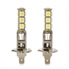 H1 6.5W 480lm 13-SMD 5050 LED White Light Car Fog Lamp (12V / 2 PCS)