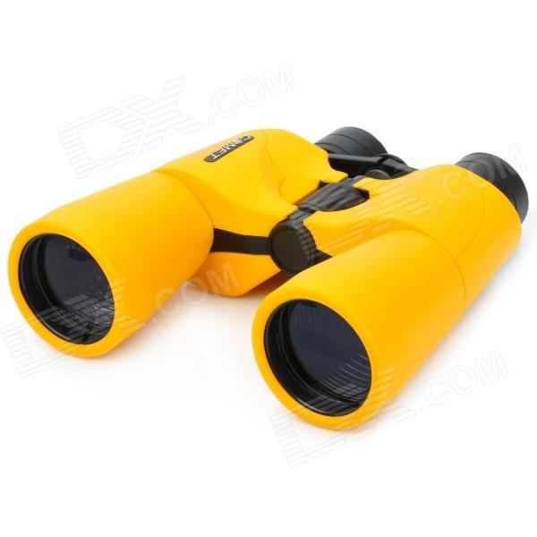 Comet Portable 10X 50mm Telescope w/ Carrying Bag - Yellow