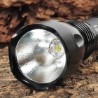 UltraFire SF-23 SSC Z7 900lm 5-Mode Memory White Light Crown Head Flashlight - Black (1 x 18650)