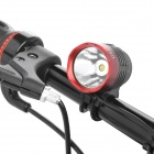 UltraFire SSC Z7 900lm 3-Mode White Bike Light Headlamp - Black + Red (4 x 18650)