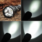 UltraFire SF-22 SSC Z7 900lm 5-Mode White Light Flashlight - Black (1 x 18650)