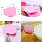 Pig Style Kitchen Silicone Heat Resistant Cooking Anti-Slip Glove - Pink