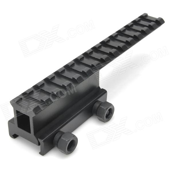 Aluminium en alliage Extension Gun Rail Mount pour M4A1 / M16 - Noir
