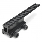 Aluminum Alloy Extension Gun Rail Mount for M4A1 / M16 - Black