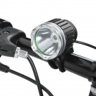 UltraFire TD-020 SSC Z7 900lm 3-Mode White Bike Light Headlamp - Silver Grey (4 x 18650)