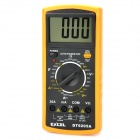 "DT92O5A 3"" LCD Digital Multimeter - Orange (1 x 9V 6F22 Battery)"