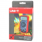 "UNI-T UT136C 2"" LCD Digital Multimeter - Red + Dark Grey (1 x 9V Battery)"