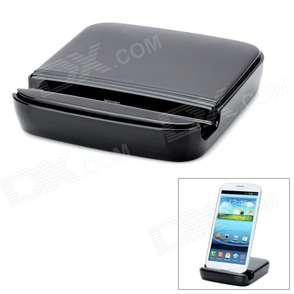 2-in-1 Battery Charging Charger Dock Station for Samsung Galaxy S3 i9300 2 in 1 battery charging charger dock station for samsung galaxy s3 i9300
