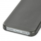 Protective TPU Back Case w/ Screen Guard for Iphone 5 - Black - Translucent Black