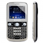 "Q10 GSM QWERTY Bar Phone w/ 2.2"" LCD Screen, Quad-Band, Triple-SIM, TV and FM - Black"