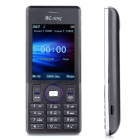 "A50 GSM Bar Phone w/ 2.4"" LCD Screen, Dual-Band and Dual-SIM - Grey"