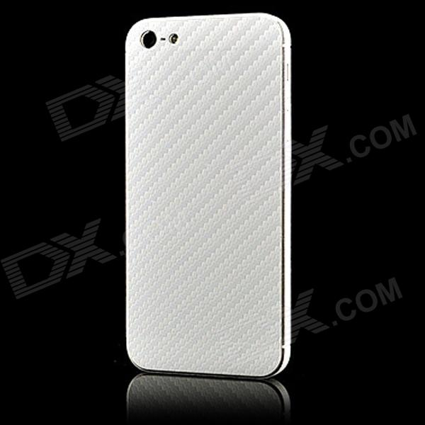 how to put carbon fiber sticker on cell phone