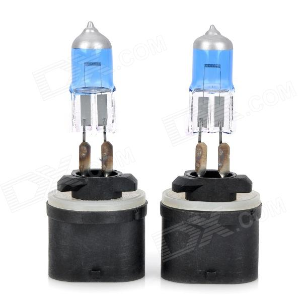 D&Z 880 27W 480lm White Light Car Halogen Lamps (DC 12V / 2 PCS)