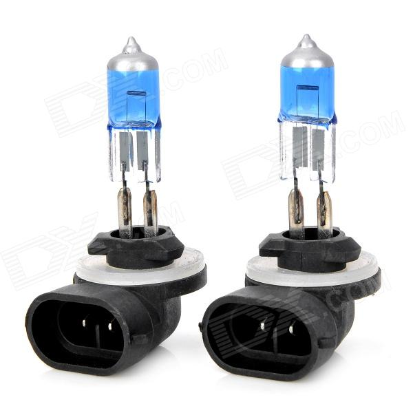 D&Z 881 27W 480lm White Light Car Halogen Lamps (DC 12V / 2 PCS)