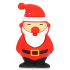 Patriot Cute Santa Claus Style USB 2.0 Flash Drive with Keychain - Red + White + Black (16GB)