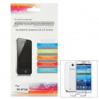 Écran brillant protecteur Film Protecteur pour Samsung Galaxy N7100 Note 2 - Transparent (3 PCS)