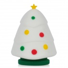 Patriot Cute Christmas Tree Style USB 2.0 Flash Drive with Keychain - White + Green (32GB)