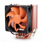 PCCOOLER HS90H 2000RPM CPU Heatsink + Cooling Fan for Desktop - Black + Copper + Orange