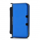 Protective Aluminum Flip Open Case for Nintendo 3DSLL / 3DSXL - Sapphire Blue