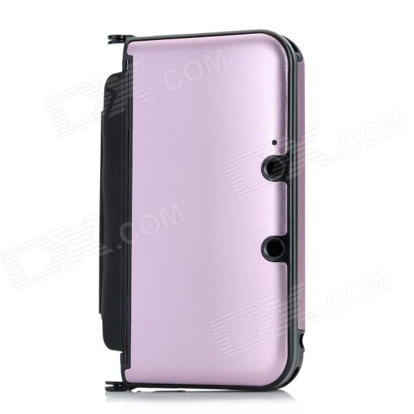 Protective Aluminum Flip Open Case for Nintendo 3DSLL / 3DSXL - Pink