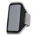 Fashion Sports Gym Running Arm Band Case for Iphone 5 - Grey + Black