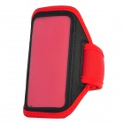 Fashion Sports Gym Running Arm Band Case for iPhone 5 - Red + Black