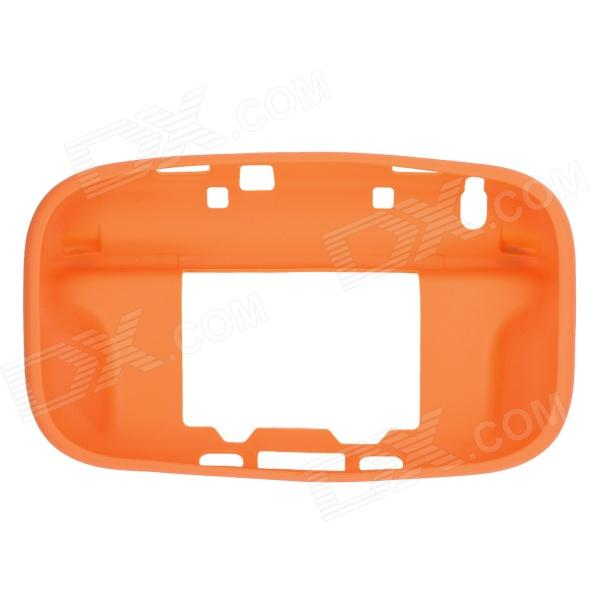 Protective Durable Soft Silicone Case Cover for Wii U - Orange