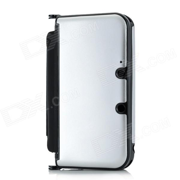 Protective Aluminum Flip Open Case for Nintendo 3DSLL / 3DSXL - SilverCases &amp; Pouches<br>Quantity 1 Color Silver Material Aluminum + plastic Style Protective flip open case Application Model 3DSLL/3DSXL Features Protect your device from dust scratch shock; Full access to jack ports switches Packing List 1 x Case<br>