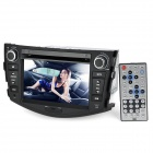 "RAV4 7.0"" Touch Screen Car DVD Media Player w/ GPS / Bluetooth / TV / FM / Ipod Port for Toyota"