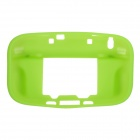 Protective Durable Soft Silicone Case Cover for Wii U - Green