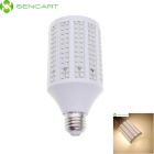 E26 24W 1740lm 3500K Warm White 348-SMD 3528 LED Light Bulb - White (85~265V)