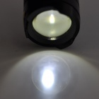 UltraFire SK6-3W Cree XP-E R5 345lm 1-Mode White Light Zooming Flashlight - Black (1 x 14500)