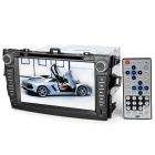 "8.0"" Touch Screen Car DVD Media Player w/ GPS / Bluetooth / TV / FM / Ipod Port for Toyota Corolla"