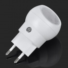 Mini 360 Degree Rotation 0.5W White Auto Sensor Night Lamp - White