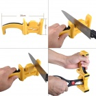 Multi-Function Kitchen Knife Sharpener - Yellow