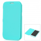 Protective Soft Plastic Case w/ Front Cover for Samsung Galaxy Note II N7100 - Light Green