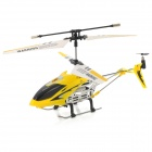 Rechargeable 3.5-CH IR Remote Controlled R/C Helicopter with Gyro - Yellow + Black + Silver