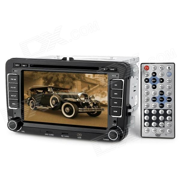 "7.0"" Touch Screen Car DVD Media Player w/ GPS / TV / Bluetooth / FM / Canbus / Ipod for Volkswagen"