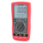 "UNI-T UT90A 3.1"" LCD Digital Multimeter - Red + Dark Grey (1 x 9V Battery)"