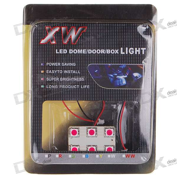 S25/Festoon 1.32W 6-LED Purple Cabin/Dome/Door/Glove Box Light (DC 12V) kid s box 2ed 6 pb